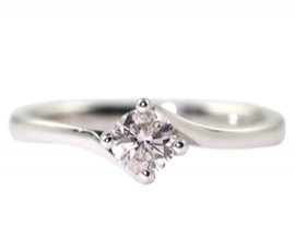 18ct .30ct Twist Set Solitaire