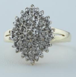 9ct Diamond Cluster