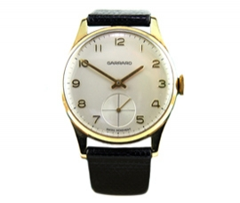 Vintage 9ct Gold Garrard Watch