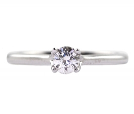 Platinum .25ct Diamond Solitaire
