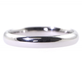 Platinum 3mm Heavy Court Band