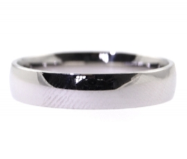Platinum 4mm Court Band
