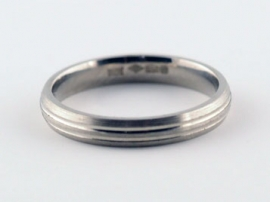 3mm Platinum Band