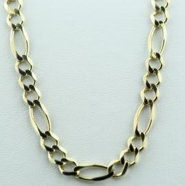 "9ct 31"" figaro Chain"
