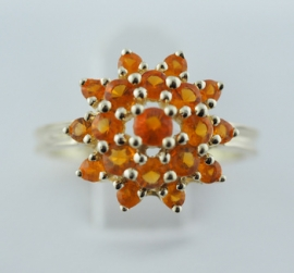 9ct Cluster Ring