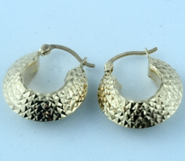 9ct Creole Earrings