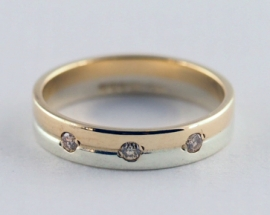 9ct Diamond Band