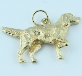 9ct Dog Pendant