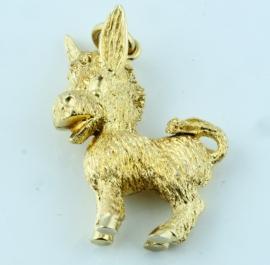 9ct Donkey Charm