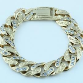 9ct Gents Bracelet