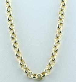 """9ct Gold 22"""" Belcher Chain"""