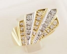 9ct Gold Cubic Zirconia Ring