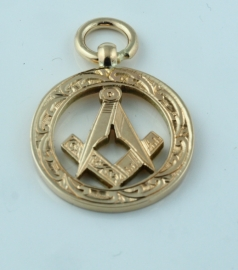 9ct Masonic Pendant
