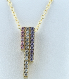 9ct Pendant & Chain