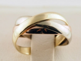 9ct Russian Wedding Ring