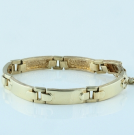 Gents 9ct Gold Bracelet
