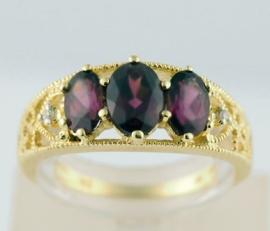Indian Garnet Ring