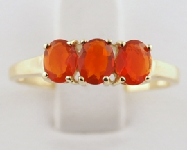 Mexican Fire Opal Dress Ring