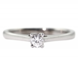 Platinum .21ct Diamond Solitaire